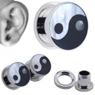 Wholesale Body Jewelry Ear Plug Yin and yang PL29 Product Code: PL29