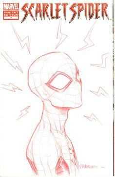 Spider- man by Sara Pichelli Comic Art