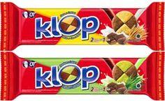 K: Kepingan biskuitnya 2 warna L: Lengkap dengan 2 rasa yg berbeda O: Orang Indonesia suka P: Paling KLOP untuk semua  KLOP rasanya, KLOP nikmatnya