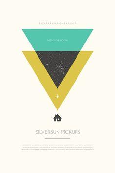 triangles. silversun.