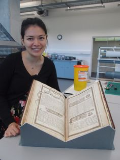 Hello, everyone! We are the two new (soon to be old) interns at the Glucksman Conservation Centre. We come from MA Conservation courses in the UK - Carrie is at Camberwell studying books and archiv...