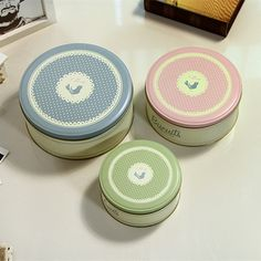 Biscuit tins,cookie jars,jewel case,metal container sealed candy cans,set of three creative storage tin snack box,free shippment
