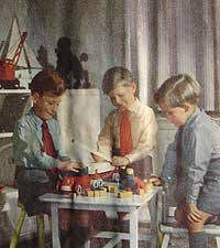 Playtime and fun and games 1950's   Down the Lane