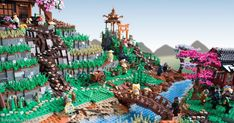 How I built a 20,000-piece LEGO rice plantation inspired by The LEGO Ninjago Movie [Guest Feature]