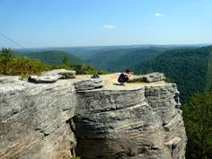 Always allow for time to stop and take in the scenery while traveling. Cooper's Rock, West Virginia.