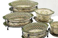 Temp-tations cookware is all it's cracked up to be. I have this old works pattern shown but damn if their not amazing pieces. Prep, cook, serve & store in them. Love the trivets, lids & wire carrier each one comes with