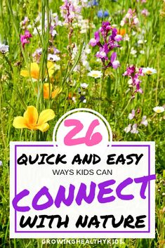 Quick And EASY Ways To Connect With Nature for kids and families is part of Quick Kids Crafts Parents Quick And EASY Ways To Connect With Nature for Kids and famillies Spend quality time together f - Activities For 2 Year Olds, Outdoor Activities For Kids, Nature Activities, Summer Activities For Kids, Infant Activities, Family Activities, Diy Garden Projects, Garden Tips, Outdoor Fun