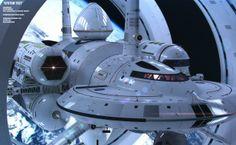 Le vaisseau modélisé par le designer Mark Rademaker.