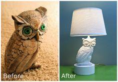 An Old Owl Statue Got A New Life