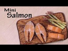 Miniature Salmon - Polymer Clay Tutorial - YouTube - This amazing miniature was created by Sugarcgarmshop.