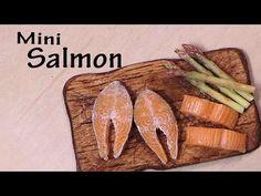 Miniature Salmon - Polymer Clay Tutorial - YouTube