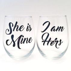 Lesbian Wedding Gift Engagement Present Gay by KrisGetsCrafty