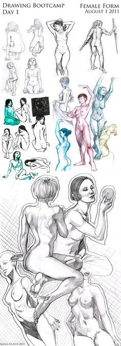 1-Aug-2011. Female Form by capyBAKA on DeviantArt