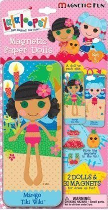 Paper Dolls - LALALOOPSY PAPER DOLL MAGNETIC FUN TIN *** Click image for more details.