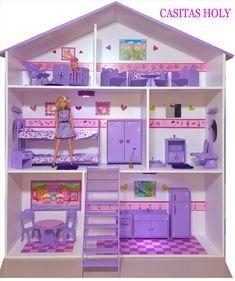 Diy Cardboard Furniture, Cardboard Box Crafts, Barbie Furniture, Dollhouse Furniture, Halloween Home Decor, Halloween House, Fabric Wall Decor, Kids Castle, Doll House Crafts