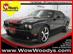 2012 Dodge Challenger, Black