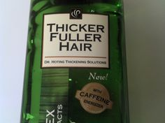 Does Caffeine Shampoo Help Hair Loss? In this review I looked at Thicker Fuller Hair, which has caffeine- as well as the caffeine hair growth research.   I hope this helps you decide if Thicker Fuller Hair and/or caffeine can help you grow hair.