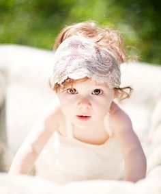 LOVE LOVE LOVE the hair scarf.  Wish I had little girls to put this on and maybe will make one for myself!