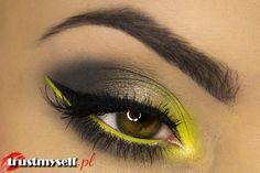 """Lime me up!"" By Marta G using Makeup Geek eyeshadows in Galaxy, Moondust, and Pixie Dust."
