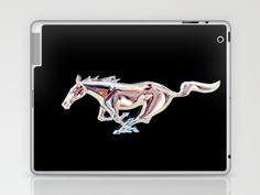 Mustang..... Laptop & iPad Skin by Wood-n-Images - $25.00