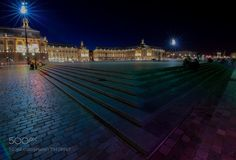 a night in Bordeaux... by paroq check out more here https://cleaningexec.com