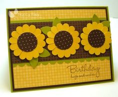 i STAMP by Nancy Riley: Search results for sunflower