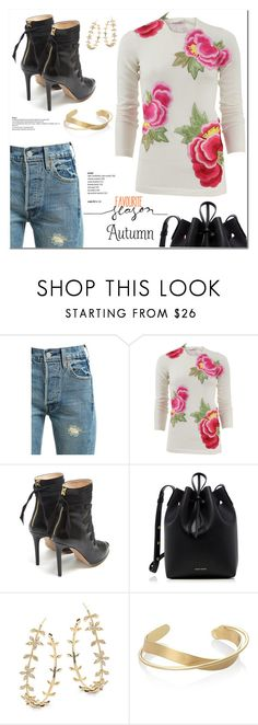 """""""Autumn!"""" by christinacastro830 ❤ liked on Polyvore featuring Levi's, Naeem Khan, Altuzarra, Mansur Gavriel and Tai"""