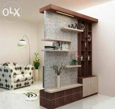 Marvelous Home Design Architectural Drawing Ideas. Spectacular Home Design Architectural Drawing Ideas. Living Room Partition Design, Room Partition Designs, Wood Partition, Small Living Rooms, Living Room Designs, Living Room Decor, False Ceiling Living Room, Living Room Flooring, Bedroom Wood Floor