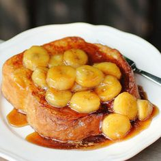 Culinary Secrets » Banana Caramel French Toast