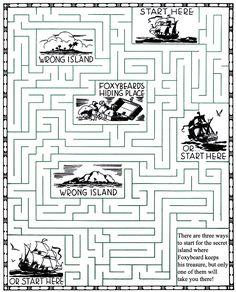 26 Best Maze Puzzles Images Activities For Kids Kindergarten