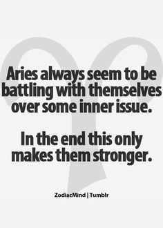 """Always...yes but re read the part that says """"always seem to be battling with themselves over some INNER issue...see I'm not the only one with issues and drama...for fuck sake"""