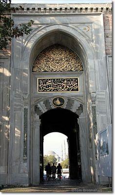 Istanbul's Top Sights: Topkapı Palace, First Gate, Istanbul, Turkey