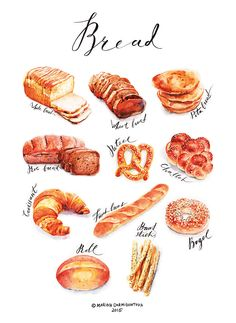 Bread on Behance