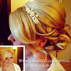 Bridal hair wedding hair wedding updo and makeup bridesmaid hair