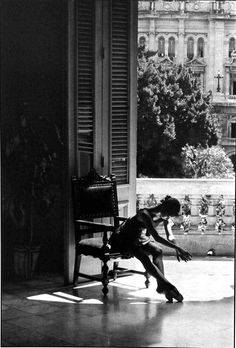 Havana Ballet    photo: Charlie Roff, 1992