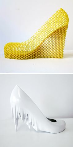 This Artist Turned His Former Flings into 3D Printed Shoe Sculptures via Brit + Co.