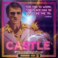 #Castle #MondayNightFever