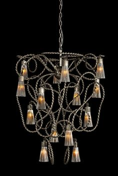 A customised Sultans of Swing nickel aged contemporary Chandelier. Exclusive designed and made on request pendant lighting. See our endless possibilities to create custom designed pendant lighting for you at our website WWW. Luxury Lighting, Lighting Design, Sultans Of Swing, Decorative Lights, Contemporary Chandelier, Shape And Form, Light Decorations, Pendant Lighting, Custom Design