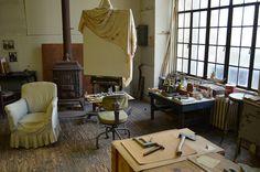 Thomas Hart Benton's Studio