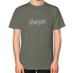 Unisex T-Shirt (on man), 'Skargoz Logo'