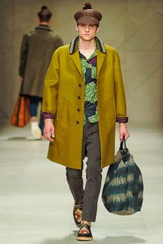 Burberry Prorsum Spring 2012 | Milan Fashion Week