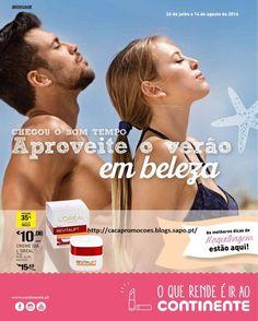 Promoções Continente - Antevisão Folheto Beleza EXTRA - 26 julho a 14 agosto - http://parapoupar.com/promocoes-continente-antevisao-folheto-beleza-extra-26-julho-a-14-agosto/