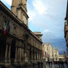 Palazzo dei Giureconsulti  #milano #palazzogiureconsulti #milan #mymilano #milanodavedere #igersmilano #architecture #archilovers #architectureporn #architecturelovers by qvikki_dolores