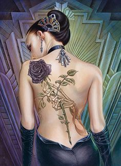 Clementoni Puzzle 1000 Teile Rose des Folies (39242) Tattoo Gothic in Spielzeug, Puzzles & Geduldspiele, Puzzles | eBay