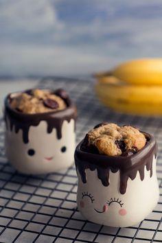 Skinny Microwave Banana Mug Cake See recipe details. Skinny Microwave Tomato Baked Eggs See recipe details. Skinny Microwave Chocolate Mug Ca Banana Recipes, Ww Recipes, Muffin Recipes, Sweet Recipes, Dessert Recipes, Breakfast Recipes, Vegetarian Recipes, Banana Mug Cake, Banana Oat Muffins