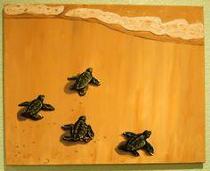lil sea turtles