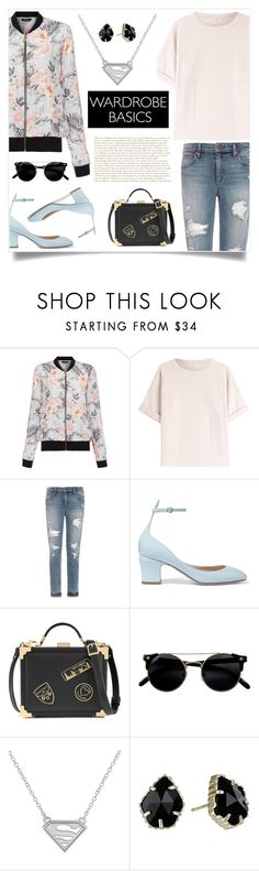"""wardrobe basics: spring jacket"" by titisww ❤ liked on Polyvore featuring New Look, Brunello Cucinelli, Joe's Jeans, Valentino, Aspinal of London, Kendra Scott and wardrobebasics"