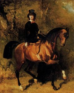 2e3356c8e2a Reinette  Amazons and Equestriennes Ladies on Horseback Equine Art