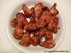 Spicy Chicken Wings (Baked not Fried) Chicken Wings Spicy, Poultry, Delish, Fries, Good Food, Appetizers, Favorite Recipes, Meat, Dinner