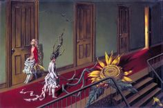 Today is the birthday of famed female artist Dorothea Tanning. The Surrealist painter and wife of fellow artist Max Ernst would be 102 years if she were . Peggy Guggenheim, Max Ernst, Women Artist, Morris Louis, Dorothea Tanning, A Little Night Music, Louise Bourgeois, Arte Horror, Fantastic Art
